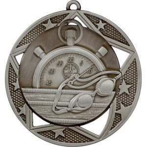 Swimming Galaxy Medal Gold